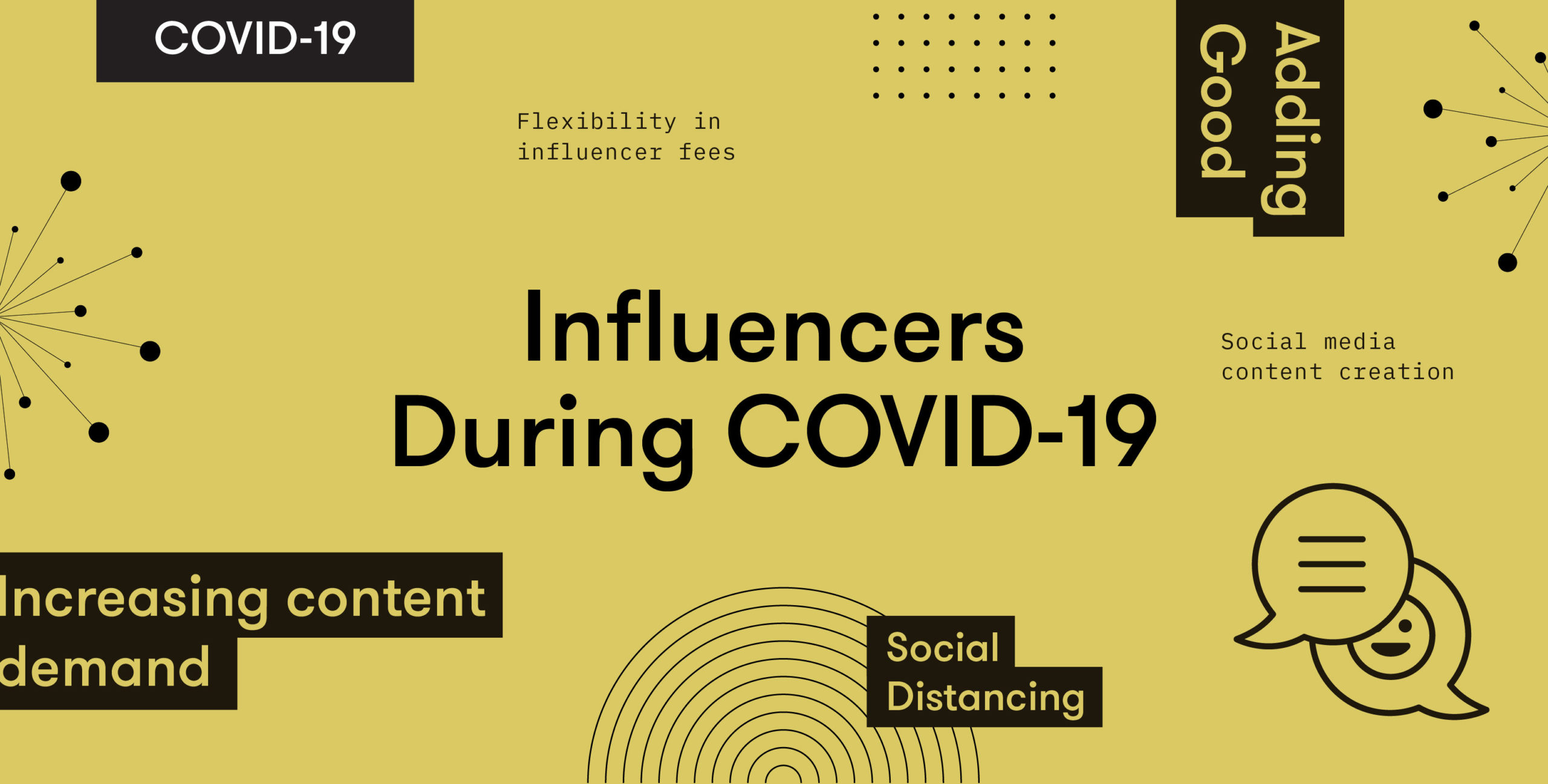 On the power of influencers and meaningful moments during quarantine