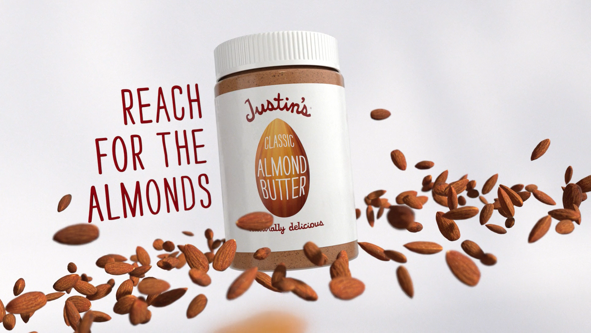 Justin's: Live a little nutty campaign.