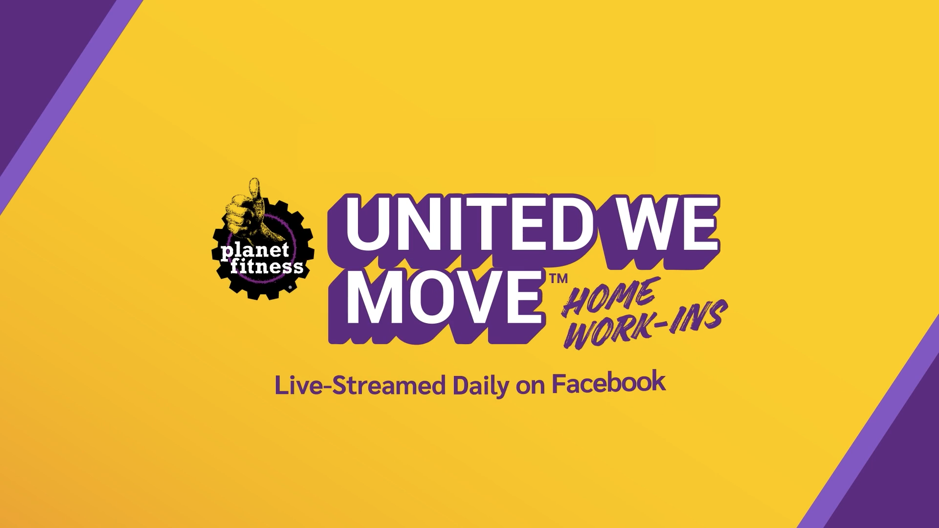 Planet Fitness: United We Move campaign.