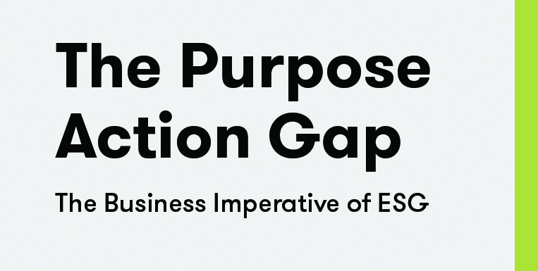 The Purpose Action Gap: The Business Imperative of ESG